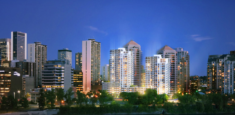 Avenue Upcoming Calgary Condo Development Project On The West End Of Downtown